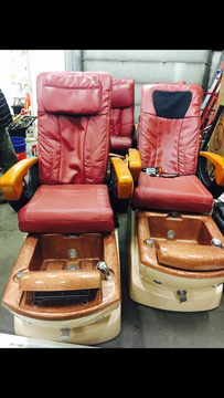 Ams R2 massage and salon quality pedicure chairs for Sale in Anchorage, AK