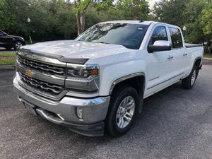 2016 Chevrolet Silverado LTZ 2WD Crewmax Extended Bed leather seat, back up camera, new tires, navi for Sale in West Park, FL