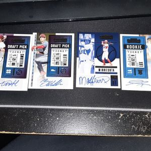Panini contenders 2020 Lot Autographs. 6 In Total for Sale in IL, US