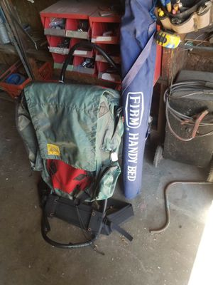 Camping backpack for Sale in Tewksbury, MA