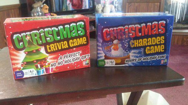 Christmas Trivia and Charades Games