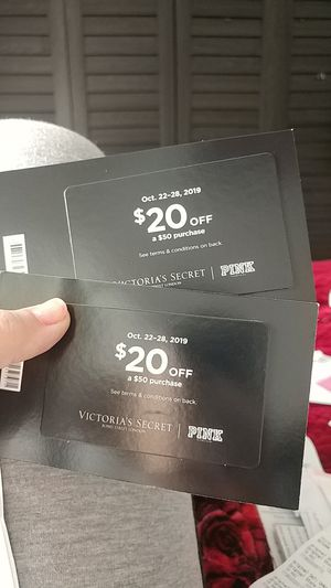 Victoria's Secret $20 off coupon for Sale in Boring, OR