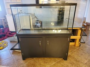 60 gallon aquarium set up for Sale in Norco, CA