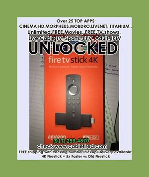 Gn get his rUltra new Amazon fire TV Stick for Sale in New York, NY