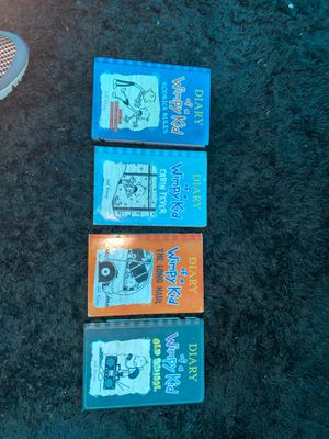 Diary of a wimpy kid books for Sale in Bristol, CT
