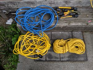 220 and 110 extension cords for Sale in Tacoma, WA