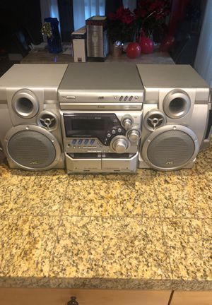 Jvc home stereo system Model MX G50 for Sale in Saint Paul, OR