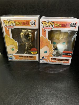 Funko pop dragon ball z lot for Sale in City of Industry, CA