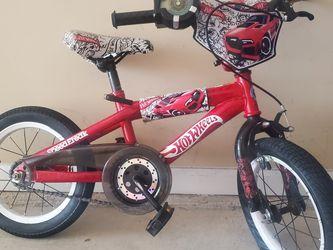 Kids Hot Wheels 14 Inch Bicycle for Sale in Alpharetta,  GA