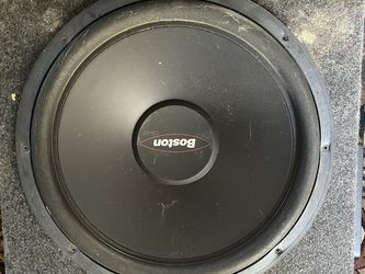 """15"""" Boston G2 Subwoofer With Rockford Fosgate P300X2 Amp Combo for Sale in Pittsburgh,  PA"""