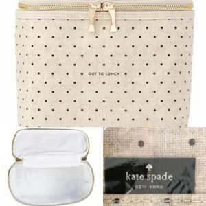 New in package late spade lunch/makeup bag for Sale in Plano, TX