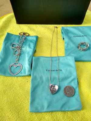 Tiffany & Co. Jewelry $325 all three pieces for Sale in South Gate, CA