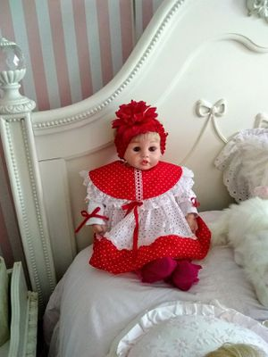 BEAUTIFUL REMADE CHRISTMAS DOLL & ACCESSORIES for Sale in Marietta, GA