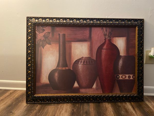 Painting in a frame!