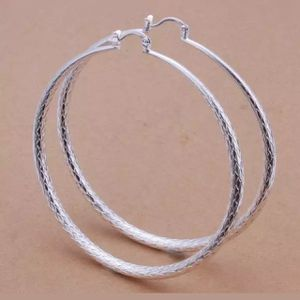 925 Sterling Silver Plated Hoop Earrings for Sale in Queens, NY