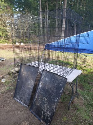 2 big bird cages for Sale in Roy, WA