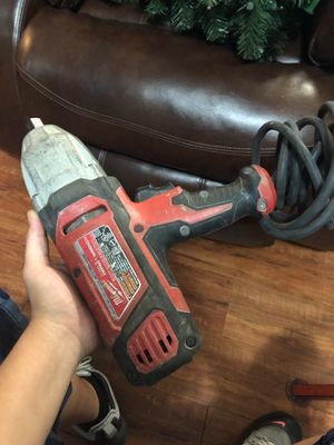 impact wrench milwaukee 120 v for Sale in Dallas, TX