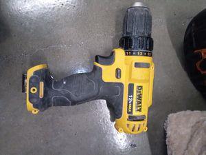 12 v max Dewalt drill/driver for Sale in Seattle, WA