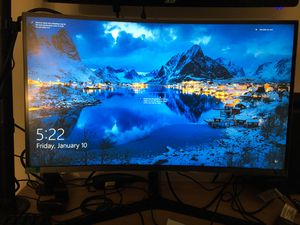 Samsung 1440p 27in curved gaming monitor for Sale in Portland, OR