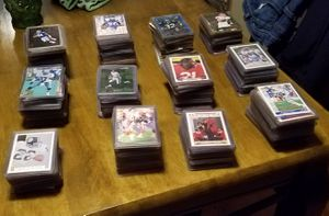 100's of football cards for Sale in Everett, WA