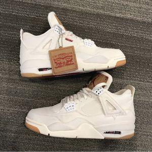 Air Jordan 4 Retro Levi's White Size 8 for Sale in Cumming, GA