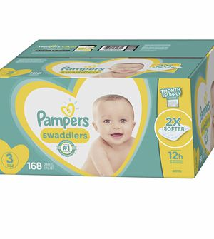 pampers size 3 for Sale in Annandale, VA