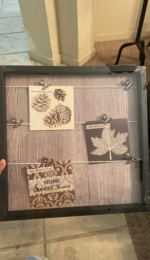 Brand new picture frame to hang photos for Sale in Fairfield, CA