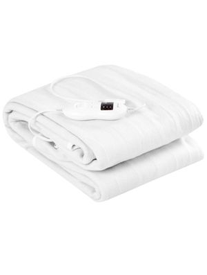 antex Heated Mattress Pad W/ 8 Temperature Regulation and 4 Mode Timing Function,Detachable Electric Blanket, White for Sale in Murrysville, PA