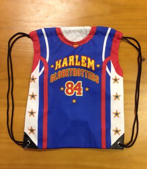 Harlem Globetrotter Cinch Sack Backpack for Sale in St. Louis, MO