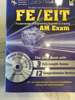 Exam Prep FE/EIT for Sale in Dallas, TX