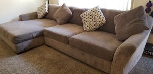 Living Spaces LAF sectional couch / sofa for Sale in San Diego, CA