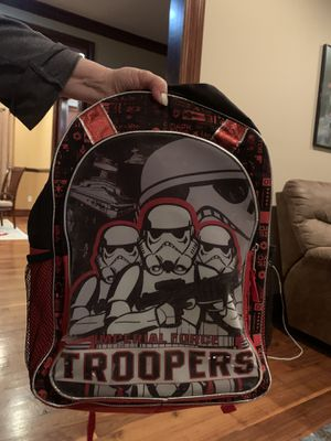 Storm trooper backpack for Sale in White Plains, NY