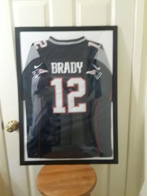 Nike Tom Brady Patriots frame stitched jersey for Sale in El Cajon, CA
