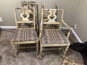 Antique dining chairs for Sale in Wichita, KS
