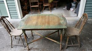Antique Table/2 matching chairs for Sale in Nashville, TN