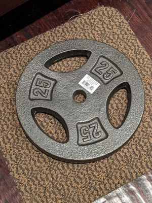 New 25Lb weight, just one for Sale in Dallas, TX