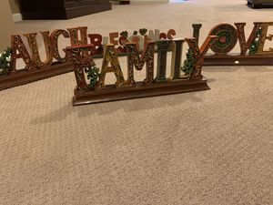 House decor. Laugh, Family, Love Blessings. for Sale in Triangle, VA