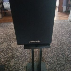 Set of Polk audio speakers(with stands) for Sale in Maynard, MA