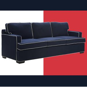 Brand NEW-Tommy Hilfiger Cardiff Sofa, Navy💙❤️🤍 for Sale in Columbus, OH