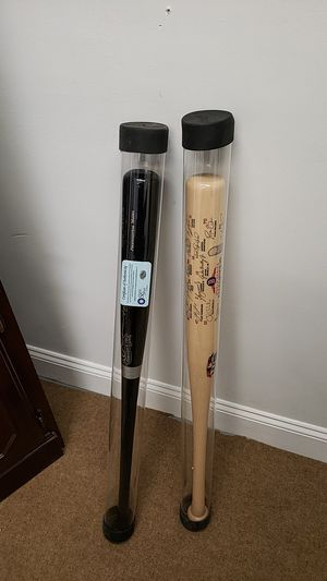 Authenticated cased baseball bats priced individually for Sale in Framingham, MA