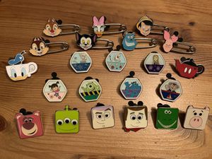Disney Trading Pins- Instant Collection #1 for Sale in Brea, CA
