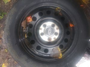Impala rim nd tire for Sale in Houston, TX