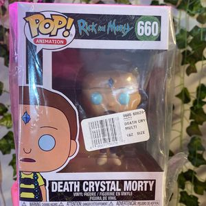 Funko Pop! Animation: Rick and Morty - Death Crystal Morty Vinyl Figure #660 New for Sale in Alexandria, VA