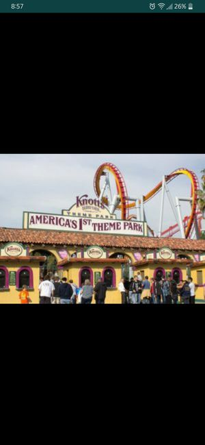 KNOTT'S $25 Ticket 2/29/20 Only + Ducks Autograph for Sale in Buena Park, CA
