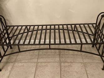 LARGE WROUGHT IRON BENCH for Sale in Lilburn,  GA