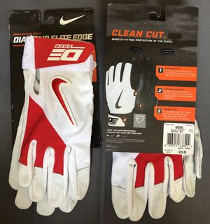 Nike Diamond Elite Edge Baseball Batting Gloves for Sale in Hacienda Heights, CA
