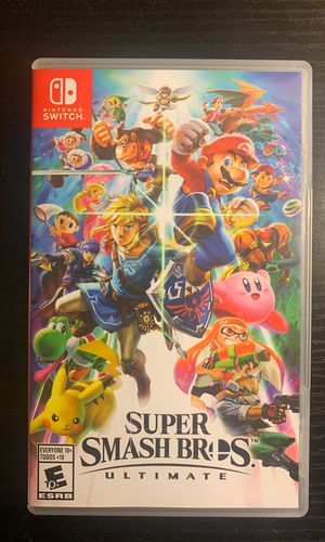 Super Smash Bros. Ultimate Nintendo Switch for Sale in Monroeville, PA