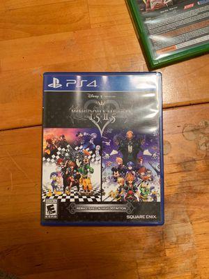 Kingdom Hearts 1.5+2.5 PS4 for Sale in Allen, TX