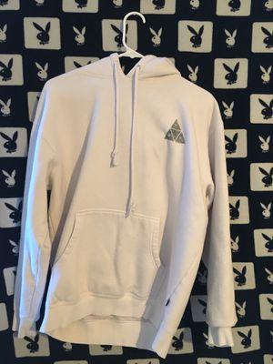 Huf all white hoodie for Sale in San Bernardino, CA