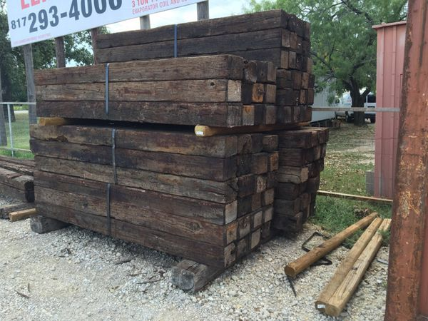 Railroad Cross Ties For Sale For Sale In Burleson Tx